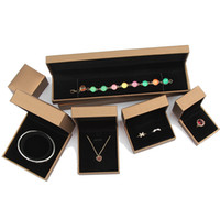 5Pcs Luxus Schmuck Geschenk-Box, Verlobung, Hochzeit Schmuck Geschenk Ring Ohrring-Anhänger-Armband-Suite Verpackungsschachtel Schmuck Display Box