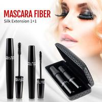Nouveau mode long Curling Cils Noir cool fibre Mascara Cils Maquillage 3D Fibre Lash Mascara