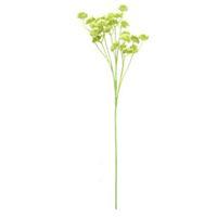 Одуванчик Искусственный шелк Цветочные цветы Свадебный букет Гортензия Декор Растения букет для украшения дома цветок 1Pc Green Ver