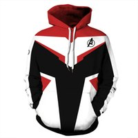 Hot Men Hoodies The Avengers 4 Endgame Quantum Realm Costume Cosplay Felpe Uomo Donna 3D Felpe Plus Size 5XL