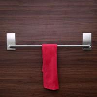 45/60/75 CM Paslanmaz Çelik Banyo Havlu Tutucu Bar Mutfak Doku Tutucu Asılı Tuvalet Rulo Kağıt Tutucu Havlu Rafları