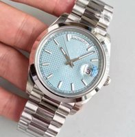 Hot sale classic 2813 automatic movement 41MM ice blue dial sapphire mens watch 228206 Date 316L Stainless steel strap men's high wristwatch