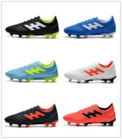 New 2019 Copa 19. 4+ Mundial Leather FG Men Soccer Shoes High...
