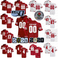 150º NCAA WISCONSIN BADGERS Jerseys Melvin Gordon III JJ Watt Jonathan Taylor Russell Wilson Jack Coan College Fútbol cosido cosido