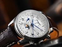 reloj clásico hombre reloj de acero inoxidable venta del envío de negocio del reloj del reloj automático hombre moda de Nueva relojes LG04