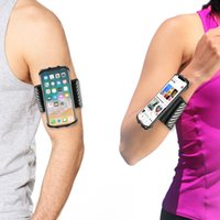 TFY Sport Armband and Wristband Holder for 4. 5 - 6 inch Phon...