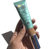 Dropshipping frei Kosmetik CC + Creme ölfrei Matt 32ml poreless Finish Full Coverage Creme feuchtigkeitsspendende Serum Concealer versandkostenfrei