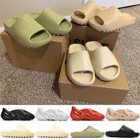2020 nuovo arrivel desinger pantofole diapositive mens Foma Runner donne bianco nero rosso moda Bone Desert Sand resina acqua scarpe di moda