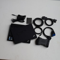 ميغابايت ستار C6 SSD VCI أداة تشخيص بروتوكول DOIP مع الكمبيوتر المحمول ThinkPad X201 Tablet I7 4G Touch جاهزة للاستخدام