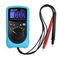 携帯用バッテリ電圧計電池の内部抵抗テスタープロオームメーター高精度バッテリー電圧テスターAll-Sun Model EM3610