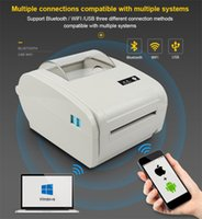 1pcs 2020 Hot 110mm 203dpi Wireless Bluetooth Printer Single Sticker Label Printer EL-9210 Office Factory Production Warehouse Management