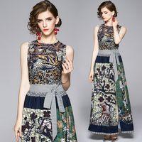 Mode Womens Luxur Print Shirt + Plissee Halblangen Rock Anzug Elegante Büro Dame Sexy Slim Zwei Teile Sets Party Abendkleider Runway