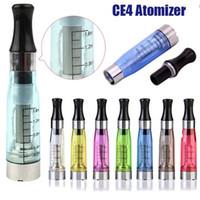 CE4 атомайзер электронная сигарета 510 eGo Clearomizer 1.6 мл длинные фитильные катушки CE4 Vape Pen Tank Cartomizer для электронной сигареты испаритель evod аккумулятор