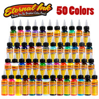 Oro Situato a 50 colori Eternal Tattoo Ink Tattoo set trucco vernice corpo Ink Tattoo Supply