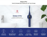 Youpin Oclean X Pro di Sonic Spazzolino elettrico per adulti IPX7 ultrasuoni automatico di ricarica rapida Tooth schermo della spazzola con il tocco