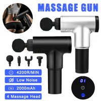 4200r min Therapy Massage Gun 6 Speed Muscle Massager Pain S...