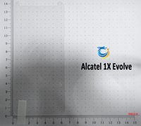Für Coolpad illuniam Alcatel 1x Evolve Tempered Glass Displayschutzfolie mit Kleinpaket 10 in 1