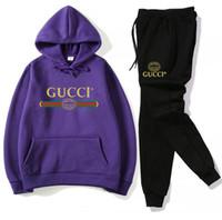 67e894c93d8 High quality hot sale Women Casual Fashion spring Long Sleeved Two-piece Hoodies  Sweatshirt +Pants Jogger Set Ladies Fall Tracksuit men suit