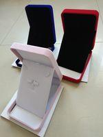 Conjunto de caja de regalo collar de terciopelo 17x12x4cm para el mejor precio al por mayor de joyería de almacenamiento de pantalla conjunto envío libre