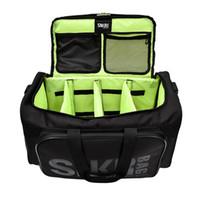 Gran compartimento múltiple deporte entrenamiento gimnasio bolsas hombres Duffel Holdall Impermeable Fitness Travel Strap Bag Bag 55L