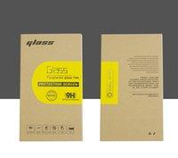 Universal Brown Paper emballage de vente au détail Boîtes d'emballage pour l'écran en verre trempé premium 9H Protector 6 pouces Dans le paquet dur 2072