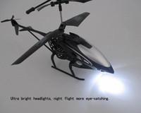 مكافحة تأثير RC طائرات الهليكوبتر 2 قناة التحكم عن بعد طائرات الهليكوب الأولاد لعبة عيد الميلاد عيد الميلاد 3 ألوان الشحن المجاني