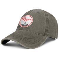 Стильный лес Ruger Round Word Unisex джинсовая бейсболка спортивные персонализированные шляпы черный логотип коричневый Ede белые сверла синие огнестрельное оружие красный 1949
