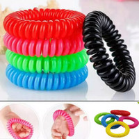 Anti-Moskito-abstoßendes Armband-Stretchable Moskito Bug Pest Repel Wristband Insect Repellent Mozzie Halten Bugs Moskito-Mörder XD21721