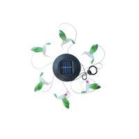 Solar mobile Winde Glockenspiel, solare Windglocke Lampe Wallary Powered LED Hängelampen windr glockenlicht windy spiele crestech