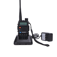 Baofeng UV-5R Walkie Talkie VHF / UHF136-174MHZ400-520MHZ المزدوج الفرقة اتجاهين راديو Baofeng UV 5R المحمولة Walkie Talkie