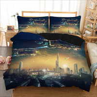 3D Printing Spaceship series 2 3 Pcs Bedding Set with Pillow...