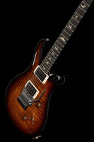 Private 24 Floyd 10 Top BWB Brown Brown Ricci Falme Acero Top Guitar Elettrico Floyd Rose Tremolo, 2 Pickup humbucker, interruttore a 5 vie, Inlay Birds