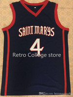 New Arrival. 2019 new High Quality  4 matthew dellavedova Saint Marys  University Mens Basketball Jersey Custom any name and number ... e448814c9