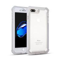 Para LG Stylo 5 4 G8 Aristo Hybrid Combo 3 en 1 Defender Clear Back Panel protectora cubierta de la caja del teléfono envío gratis