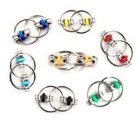 Mini El Spinner Yüksek Hızlı Rotasyon Ağır Anahtarlık Oyuncaklar Fidget Metal Spinner Anti Stres Oyuncaklar Zincir Fidget Oyuncak Sihirli Hediye