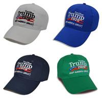 2020 Président Trump 2020 Caps Keep Faire Amérique Grand Chapeau Mode Sport Casquette de baseball pour les hommes et les femmes DHL gratuit