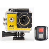 Sport all'aperto Mini Action Camera HD 4K Telecamera subacquea Videocamere di registrazione Sport Impermeabile Cam Support Android e IOS