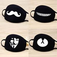 20 Máscaras Máscaras estilo unisex Boca Bangtan Boys nueva cara del partido de las mujeres de mufla Respirador de algodón para hombres de moda linda de la máscara de la panda