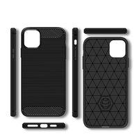 ألياف الكربون تصميم TPU الحالات الهاتف لسامسونج غالاكسي A03S S21 A22 A32 A52 A72 iPhone 12 Pro ماكس Xiaomi Poco X3 سليم