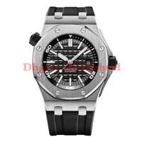 2021-New Mens orologi di alta qualità movimento automatico 43mm cinturino in gomma orologi da uomo spedizione gratuita Orologio di Lusso Montre de luxe