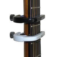Alice A007M Ayarlanabilir elastikiyet Alüminyum Alaşım yastıklı Akustik Gitar Capo