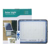Edison2011 Neue super helle 100W 300W Dämmerung zu Dawm LED Solar Flutlichter Outdoor Wasserdichte Solarsicherheitslampe Beleuchtung 10 Modi