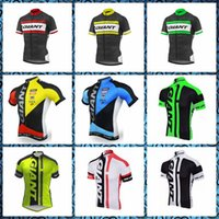 2019 New GIANT team Cycling Short Sleeves jersey Hot Sale Su...