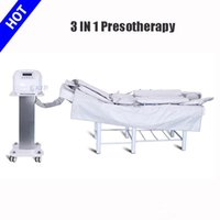 3 en 1 Pressothérapie machine infrarouge thermique Sauna Air Massage Drainage lymphatique EMS Electro Muscle stimulation Machine avec certificat CE
