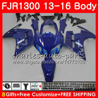 Body For YAMAHA FJR1300A Factory blue hot FJR 1300 2013 2014 2015 2016 121HM.41 FJR1300 A FJR-1300 FJR-1300A FJR1300 13 14 15 16 Fairing kit