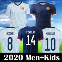 Schottland 2020 Fußballjerseys Scottish ROBERTSON FRASER NAISMITH Fußball-Hemd MCGREGOR CHRISTIE FORREST McGinn Herren Kinder Kit Uniform