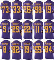 brand new 803d4 cb852 2019 Women Minnesota Vikings Youth Jersey 14 Stefon Diggs 19 ...
