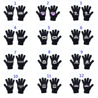 21 Style Men women big kids Fortnite llama Glove 2018 New Ga...