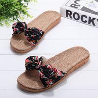 Pantofole di guida per interni a colori Candy Fashion da donna Leggera casa in EVA massiccia Pantofole di lino antiscivolo Chinelo Feminino