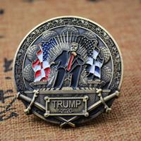 2020 Donald Trump Keep America Great! Königs Rückkehr Herausforderungs-Münze ePacket Transport